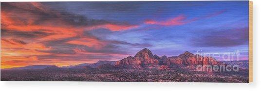 Sedona Arizona At Sunset Photograph By Eddie Yerkish