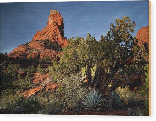Sedona Desert Wood Print