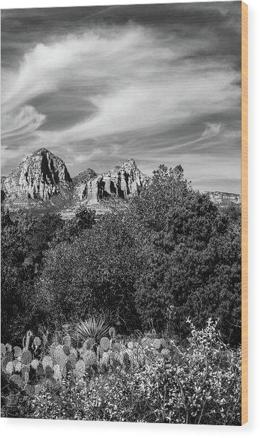 Sedona Sky Wood Print