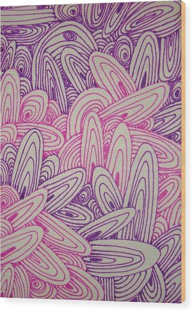 See Study Twentytwo Wood Print by Ana Villaronga