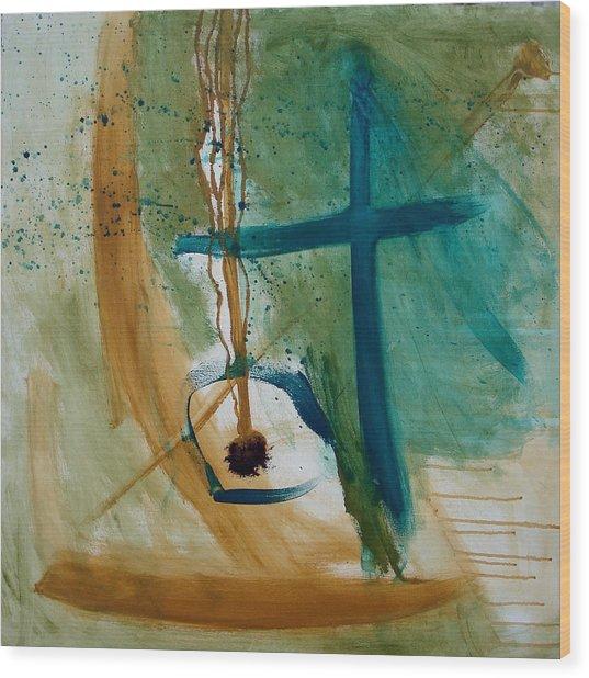 Seed Of The Soul Wood Print by Maggie Hernandez