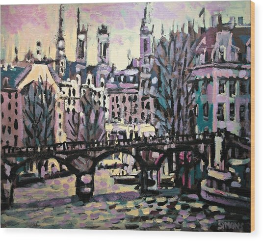 Seine Wood Print by Brian Simons