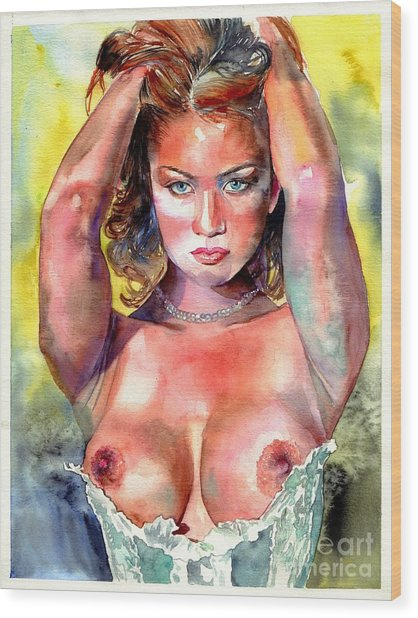 Selena Wood Print