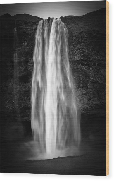 Seljalendsfoss Wood Print