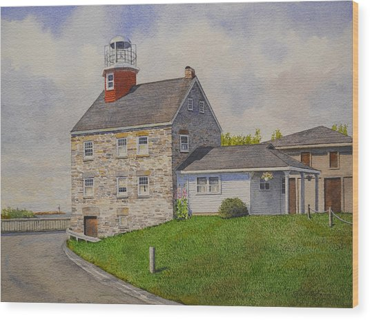Selkirk Lighthouse Wood Print