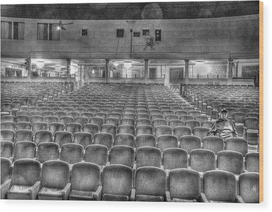 Senate Theatre Seating Detroit Mi Wood Print