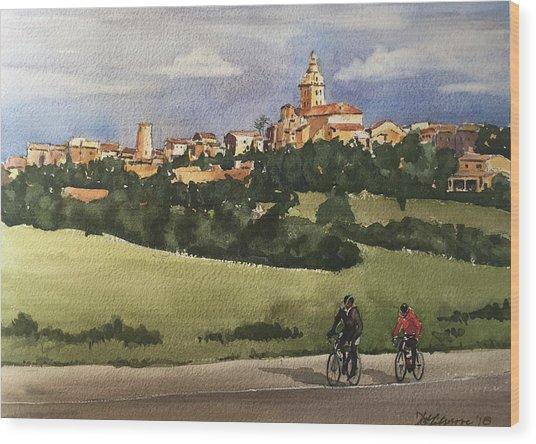 Sencelles, Mallorca Wood Print