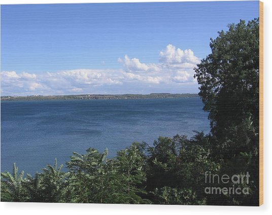 Seneca Lake Finger Lakes New York Wood Print
