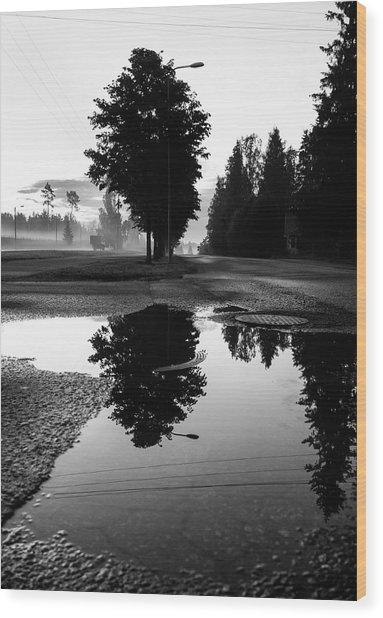 Sensory Wood Print by Matti Ollikainen