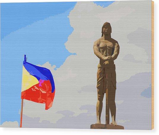 Sentinel Of Freedom Wood Print