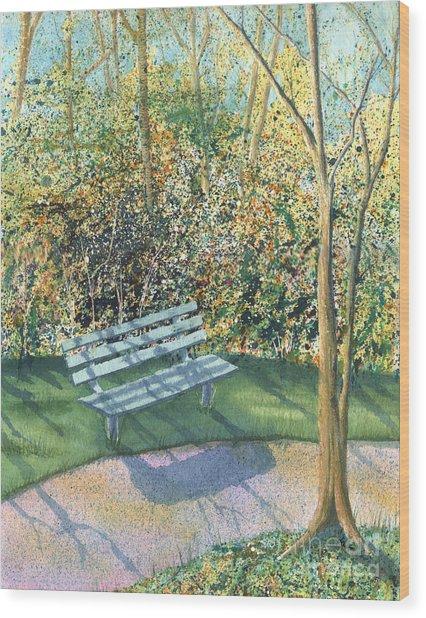 September Afternoon Wood Print