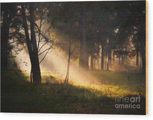 September Impressions Wood Print