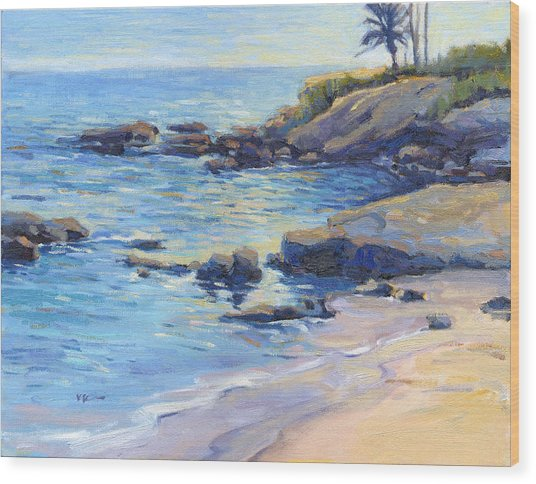 September Light / Laguna Beach Wood Print