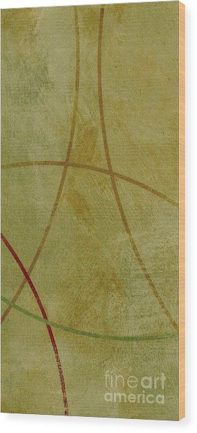 Wood Print featuring the mixed media Ser. 1 #06 by Writermore Arts
