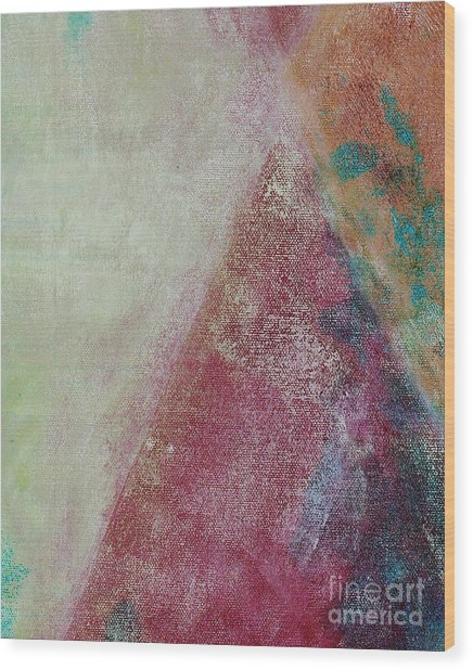 Wood Print featuring the mixed media Ser.1 #08 by Writermore Arts