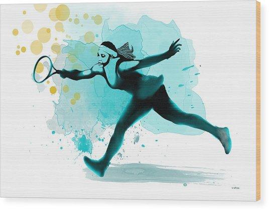 Serena Wood Print