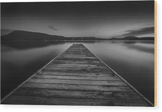 Serenity 2 Wood Print