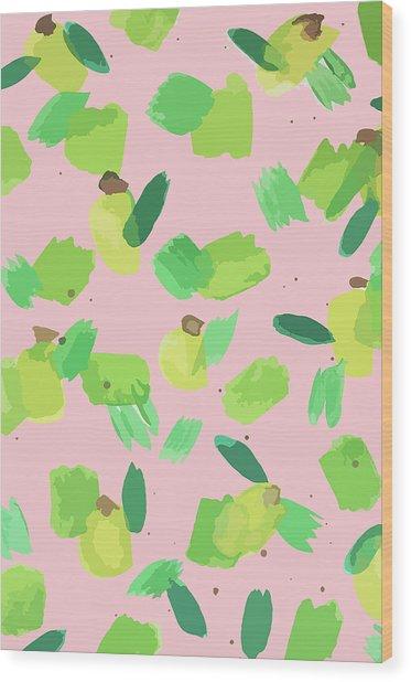 Series Pink 007 Wood Print