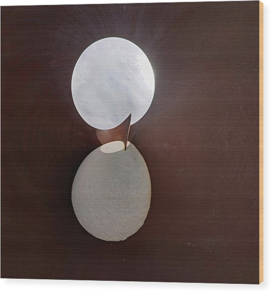 Serra View 4 Wood Print