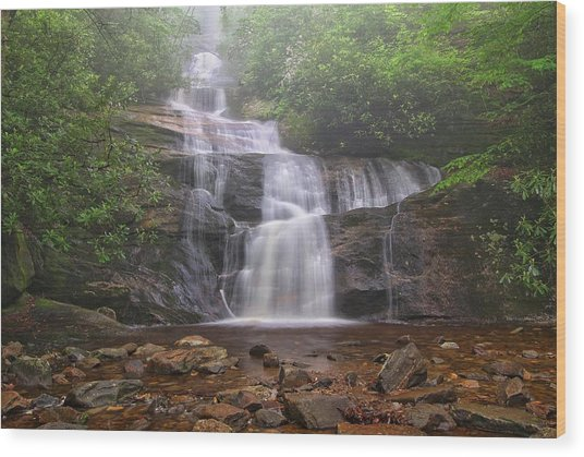 Setrock Creek Falls  Wood Print