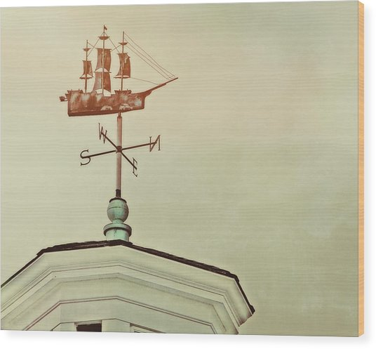 Setting Sail Wood Print by JAMART Photography