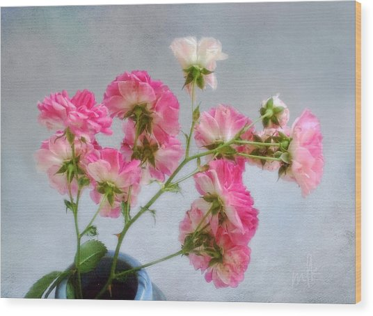 Seven Sisters Roses Wood Print