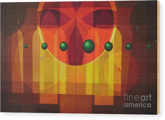 Seven Windows - 2 Wood Print by Alberto DAssumpcao