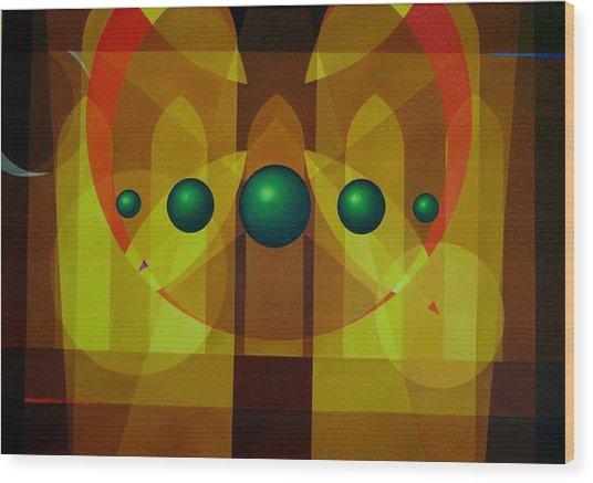 Seven Windows - 3 Wood Print by Alberto DAssumpcao