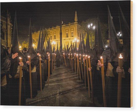 Sevilla Santa Wood Print