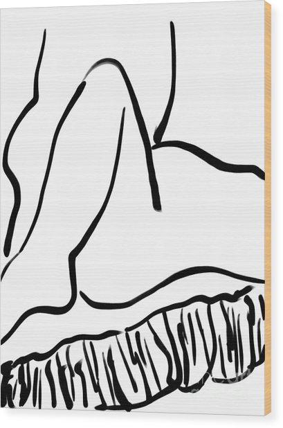 Sex  Wood Print