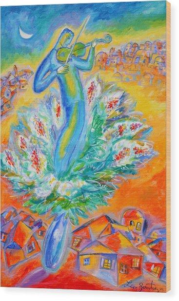 Shabbat Shalom Wood Print