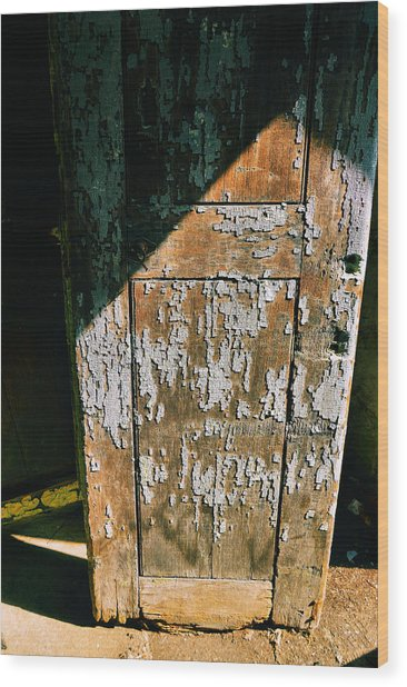 Shaded Entry Wood Print by JAMART Photography