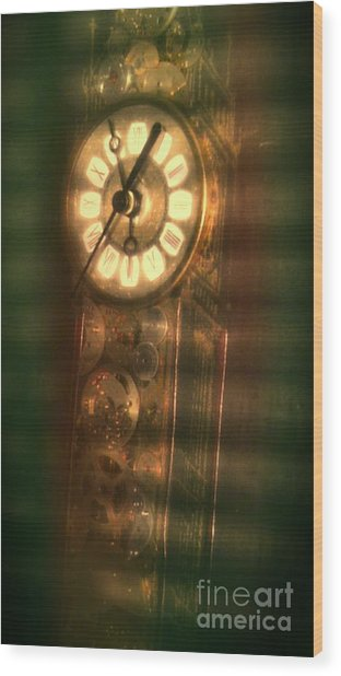 Shades Of Time Wood Print