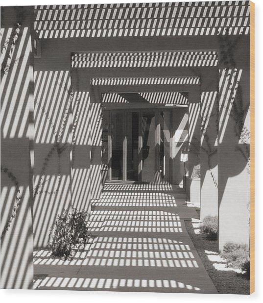 Shadow Puzzle Wood Print