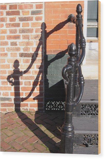 Shadow Wood Print by Sean Owens