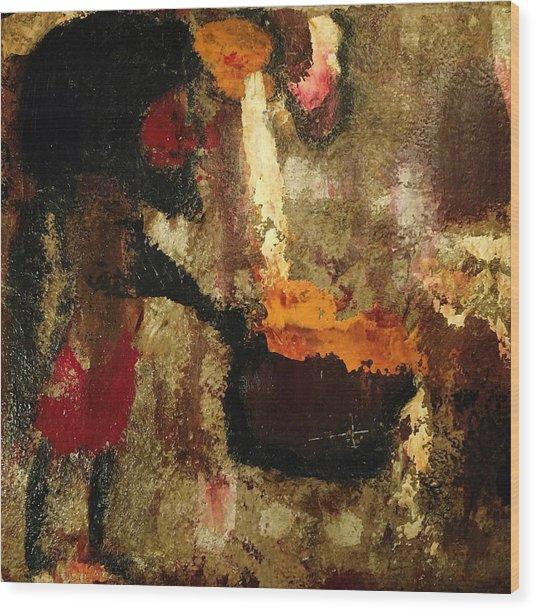 Shaman Alchemist Wood Print