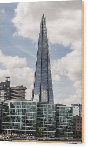Shard Building In London Wood Print