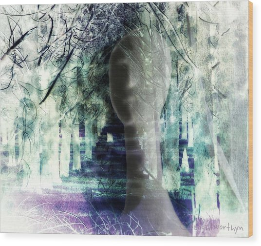She Thought She's Never Be Alone Again Wood Print