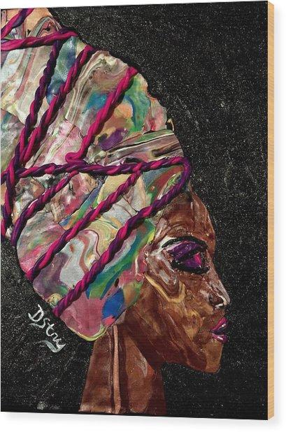 Sheba Wood Print