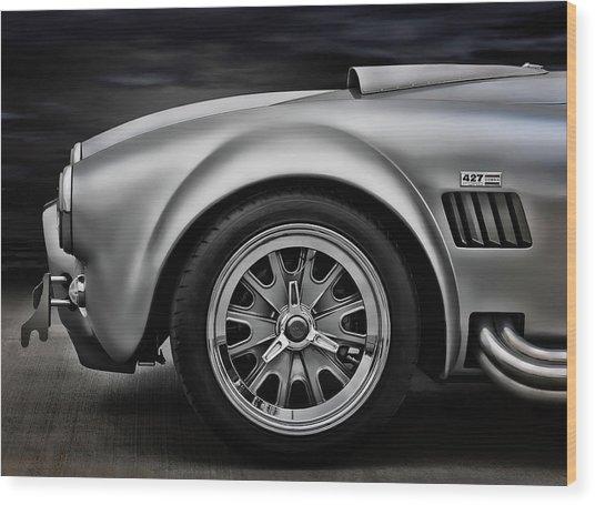 Shelby Cobra Gt Wood Print