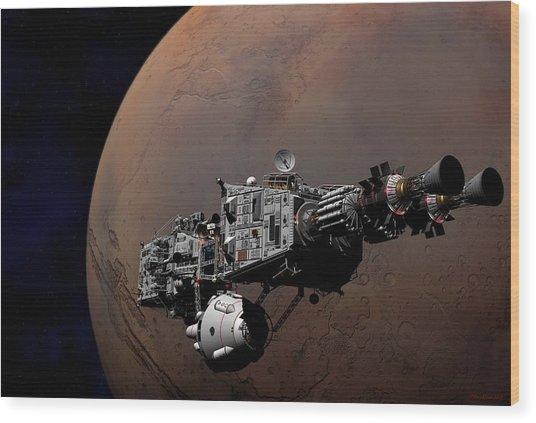 Shenandoah At Mars Wood Print
