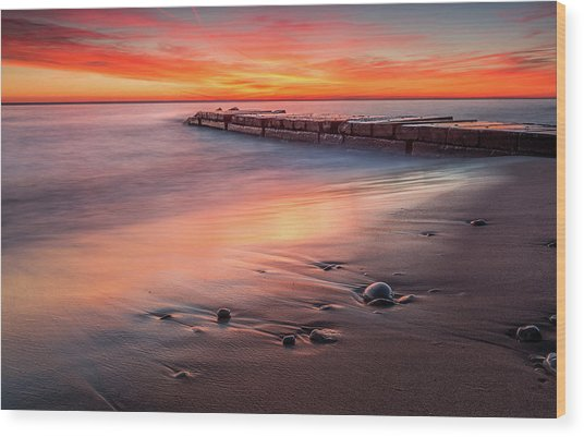 Sheridan Sunrise Wood Print