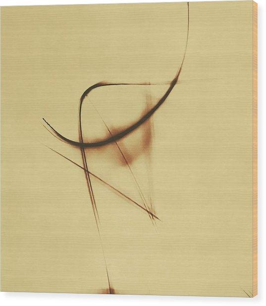 Shining Glyph #05 Wood Print
