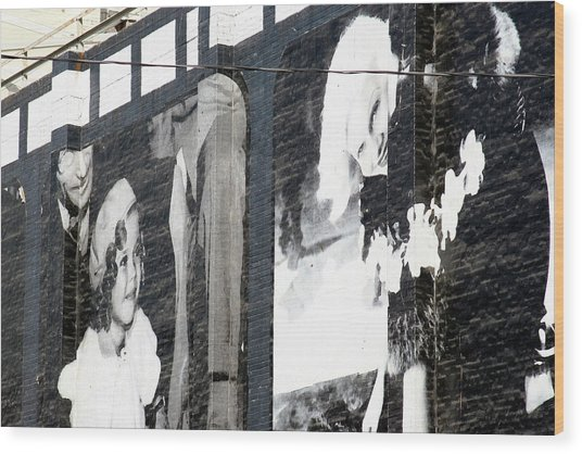 Shirley And Mae Wood Print