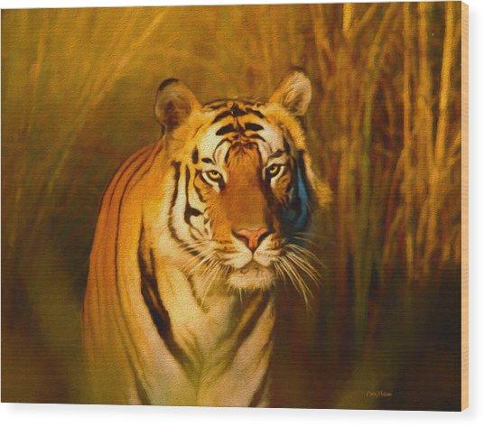 Shiva - Painting Wood Print