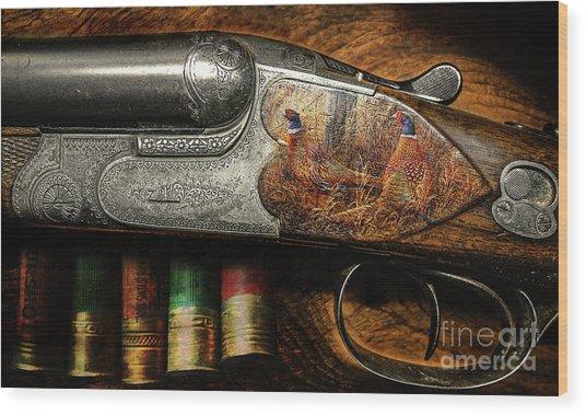Shotgun  Wood Print