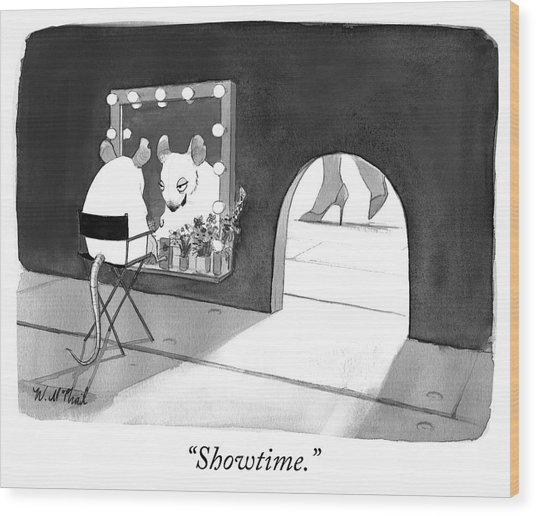 Showtime Wood Print