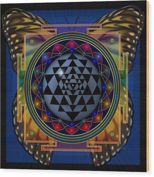 Shri Yantra 1 Wood Print