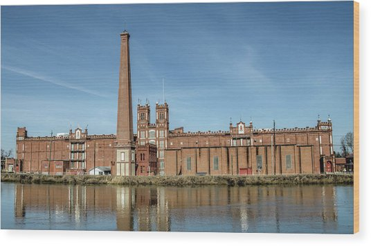 Sibley Mill Wood Print