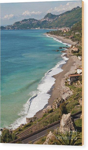 Sicilian Sea Sound Wood Print